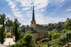 Εκκλησία του ST Johns στο Λουξεμβούργο Στοκ Εικόνα