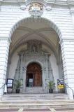 Εκκλησία του ST Leodegar σε Λουκέρνη, Ελβετία Στοκ φωτογραφία με δικαίωμα ελεύθερης χρήσης
