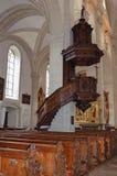 Εκκλησία του ST Leodegar σε Λουκέρνη, Ελβετία Στοκ εικόνες με δικαίωμα ελεύθερης χρήσης