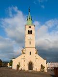 Εκκλησία του ST Margaret σε Kasperske Hory Στοκ εικόνα με δικαίωμα ελεύθερης χρήσης