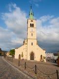 Εκκλησία του ST Margaret σε Kasperske Hory Στοκ Φωτογραφία