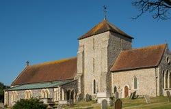 Εκκλησία του ST Margarets, Rottingdean, Σάσσεξ, Αγγλία Στοκ εικόνα με δικαίωμα ελεύθερης χρήσης