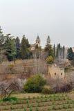 Εκκλησία του ST Mary Alhambra, Ισπανία Στοκ Εικόνες