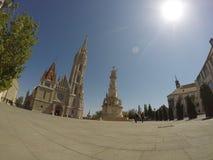 Εκκλησία του ST Matthias στη Βουδαπέστη, Ουγγαρία Στοκ εικόνα με δικαίωμα ελεύθερης χρήσης