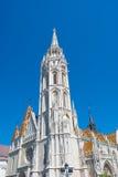 Εκκλησία του ST Matthias στη Βουδαπέστη, Ουγγαρία Στοκ εικόνες με δικαίωμα ελεύθερης χρήσης