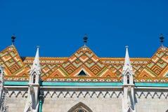 Εκκλησία του ST Matthias στη Βουδαπέστη, Ουγγαρία Στοκ Φωτογραφίες
