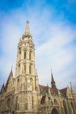 Εκκλησία του ST Matthias στη Βουδαπέστη, Ουγγαρία Στοκ φωτογραφίες με δικαίωμα ελεύθερης χρήσης