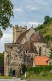 Εκκλησία του ST Michael, κοιλάδα Δούναβη, Αυστρία Στοκ Εικόνες