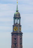 Εκκλησία του ST Michaelis (ST Michael) στο Αμβούργο hdr Στοκ εικόνα με δικαίωμα ελεύθερης χρήσης