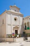 Εκκλησία του ST Nicola Fasano Πούλια Ιταλία Στοκ φωτογραφία με δικαίωμα ελεύθερης χρήσης