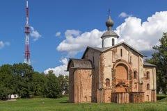 Εκκλησία του ST Parasceva η Παρασκευή στην αγορά, Veliky αριθ. Στοκ φωτογραφίες με δικαίωμα ελεύθερης χρήσης