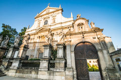 Εκκλησία του ST Peter και Σεντ Πολ Στοκ φωτογραφίες με δικαίωμα ελεύθερης χρήσης