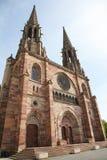 Εκκλησία του ST Peter και του ST Paul σε Obernai, Αλσατία, Γαλλία Στοκ φωτογραφίες με δικαίωμα ελεύθερης χρήσης