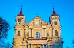 Εκκλησία του ST Peter και του ST Paul Στοκ Εικόνες