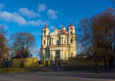 Εκκλησία του ST Peter και του ST Paul Στοκ Εικόνα