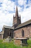 Εκκλησία του ST Peter και του ST Paul, Weobley Στοκ εικόνες με δικαίωμα ελεύθερης χρήσης
