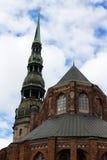 Εκκλησία του ST Peter, Ρήγα Στοκ φωτογραφία με δικαίωμα ελεύθερης χρήσης