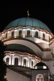 Εκκλησία του ST Sava Βελιγράδι Στοκ Εικόνα