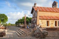 Εκκλησία του ST Stanislaus, Altos de Chavon Στοκ φωτογραφίες με δικαίωμα ελεύθερης χρήσης