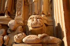 Εκκλησία του ST Trophimus, Arles, Γαλλία Στοκ εικόνα με δικαίωμα ελεύθερης χρήσης