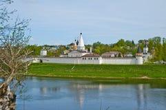 Εκκλησία τούβλου στη Ρωσία Στοκ Φωτογραφία