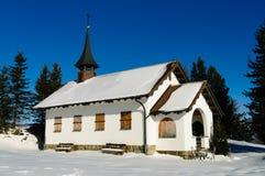 Εκκλησία το χειμώνα Στοκ εικόνα με δικαίωμα ελεύθερης χρήσης