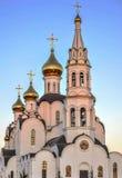 Εκκλησία τριάδας Pyatiprestolny στη μονή Iver στο Ροστόφ - επάνω - Δ Στοκ εικόνα με δικαίωμα ελεύθερης χρήσης
