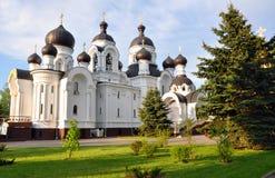 Εκκλησία των ιερών myrrh-φερουσών γυναικών σε Baranovichi belatedness Στοκ Εικόνα