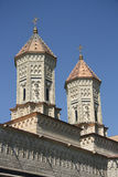 Εκκλησία των τριών ιεραρχών σε Iasi (Ρουμανία) Στοκ Εικόνες