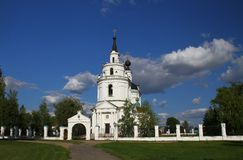 εκκλησία υπόθεσης novgorod Ρωσία Στοκ Φωτογραφία