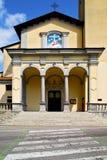 Εκκλησία albizzate Ιταλία ζέβους περάσματος ο παλαιός τοίχος Στοκ Φωτογραφίες