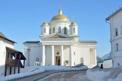 Εκκλησία Alexeevskaya στο μοναστήρι Blagoveschensky σε Nizhny Novgorod Στοκ Εικόνες