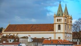 Εκκλησία Angra do Heroismo, νησί Terceira, Αζόρες Στοκ εικόνα με δικαίωμα ελεύθερης χρήσης