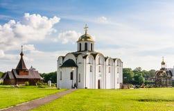 Εκκλησία Annunciation και η εκκλησία Βιτσέμπσκ belatedness Στοκ Εικόνες