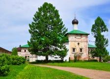 Εκκλησία Annunciation με refectory στο μοναστήρι Borisoglebsk Το χωριό Borisoglebsk Ρωσία Στοκ φωτογραφίες με δικαίωμα ελεύθερης χρήσης