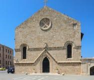 Εκκλησία Annunciation Νέα πόλη Νησί της Ρόδου Ελλάδα Στοκ Εικόνες