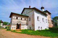 Εκκλησία Annunciation στο μοναστήρι Boris και Gleb Borisoglebsk Περιοχή Yaroslavl Ρωσία Στοκ εικόνες με δικαίωμα ελεύθερης χρήσης