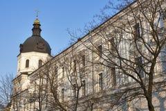 Εκκλησία Annunciation στο μοναστήρι Bratsky Κίεβο, Ουκρανία Στοκ Εικόνες