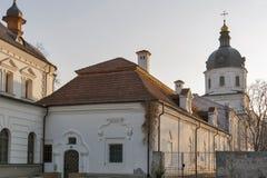 Εκκλησία Annunciation στο μοναστήρι Bratsky Κίεβο, Ουκρανία Στοκ εικόνα με δικαίωμα ελεύθερης χρήσης