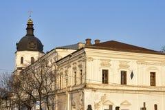 Εκκλησία Annunciation στο μοναστήρι Bratsky Κίεβο, Ουκρανία Στοκ φωτογραφίες με δικαίωμα ελεύθερης χρήσης