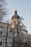 Εκκλησία Annunciation στο μοναστήρι Bratsky Κίεβο, Ουκρανία Στοκ φωτογραφία με δικαίωμα ελεύθερης χρήσης