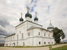 Εκκλησία Annunciation στο μοναστήρι Nikitsky Pereslavl-Zalessky Yaroslavl Oblast Ρωσία Στοκ φωτογραφία με δικαίωμα ελεύθερης χρήσης