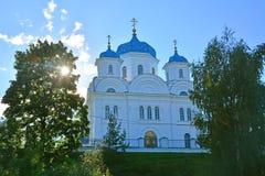 Εκκλησία Annunciation της ευλογημένα Virgin & x28 Mikhail Arkhangel& x29  στην πόλη Torzhok, Ρωσία Στοκ εικόνες με δικαίωμα ελεύθερης χρήσης
