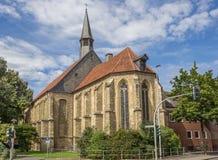 Εκκλησία Apostel στο ιστορικό κέντρο Munster Στοκ Φωτογραφία