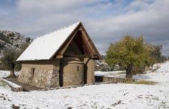 Εκκλησία Archangelos Michael στο χωριό Galata σε Cypru Στοκ Φωτογραφία