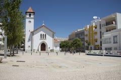 Εκκλησία Armacao de Pera στη νότια Πορτογαλία Στοκ Εικόνες