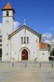 Εκκλησία Armacao de Pera Στοκ Εικόνες