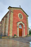Εκκλησία Bassano. Rivergaro. Αιμιλία-Ρωμανία. Ιταλία. στοκ εικόνες