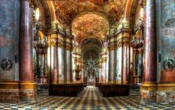 Εκκλησία Benedictian σε Rajhrad Στοκ φωτογραφίες με δικαίωμα ελεύθερης χρήσης