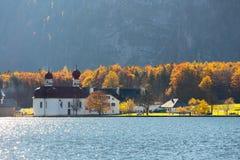 Εκκλησία Berchtesgaden, Γερμανία του ST Bartholomew Στοκ φωτογραφίες με δικαίωμα ελεύθερης χρήσης